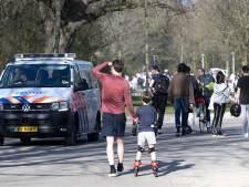 Vondelpark in Amsterdam weer dicht wegens drukte
