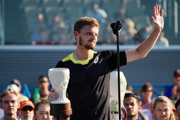 Goffin moest vrede nemen met de trofee van runner-up.