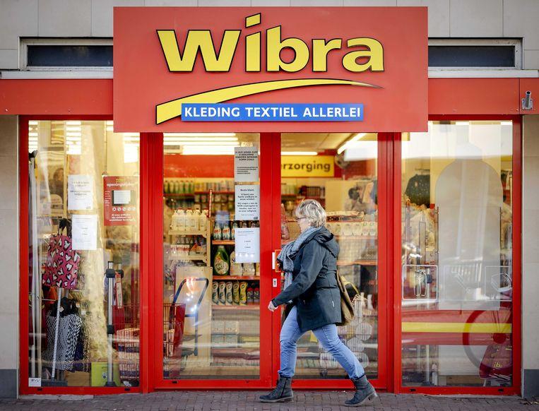 Wibra-winkel  in De Bilt. Beeld EPA