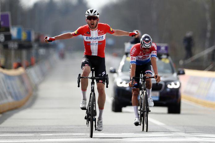 Asgreen wint, Van der Poel komt tekort.