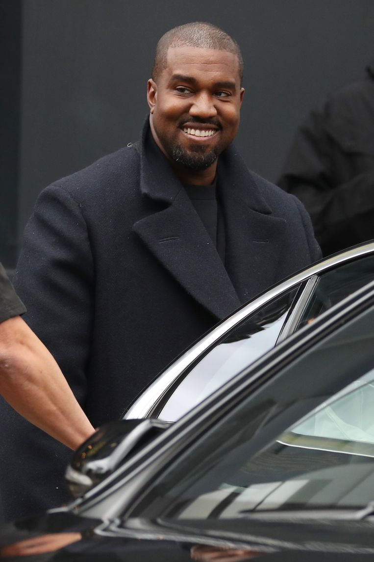 Kanye West. Beeld Getty Images