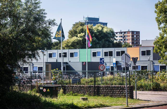 Het azc aan de Lange Kleiweg in Rijswijk.