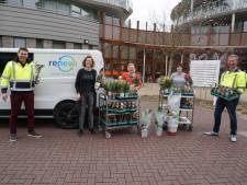 Afvalverwerker Renewi geeft 2000 planten weg aan bewoners van verzorgingstehuizen