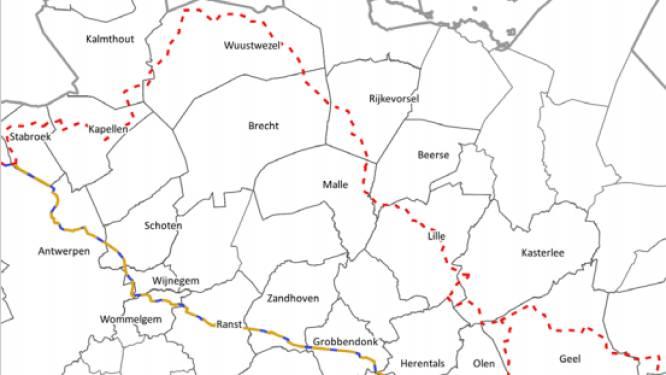 Nieuwe pijpleiding loopt mogelijk doorheen gemeenten in noordrand van Antwerpen