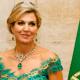 Koningin Máxima verrast met bekende groene avondjurk van Jan Taminiau