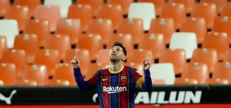 Le doublé de Messi, l'obus de Soler: le Barça se fait peur, mais reste en course pour le titre