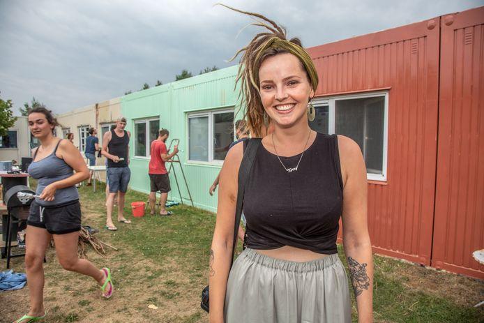 Kirsten Bothoff is één van de organisatoren van het Kattegat festival in Zwolle