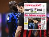 """""""Honte à vous"""": la presse italienne critique Lukaku et Ibra après leur bagarre"""