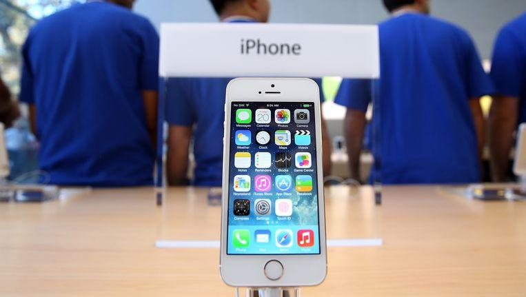 De iPhone 5S. Beeld BELGA