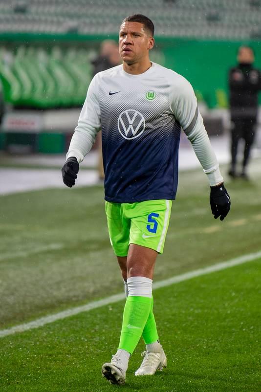 Jeffrey Bruma komt weinig aan de bak bij VFL Wolfsburg.