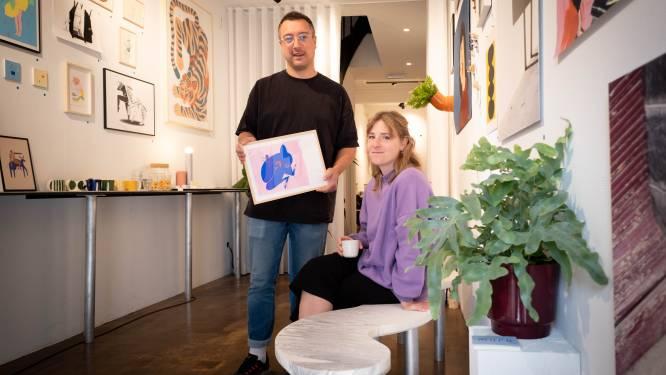 """Ondernemersduo opent kunstgalerie Muro: """"Misten sociaal contact"""""""