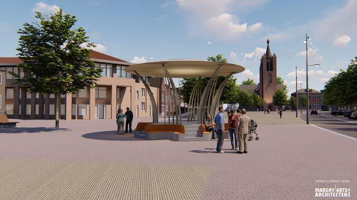 Het ontwerp van Milan Geurts kreeg de meeste stemmen.