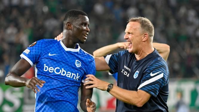 """Onuachu – goéd dat die gebleven is, zeg – bezorgt Genk volle buit met 50ste goal: """"Stikkapot, maar fantastisch gevoel"""""""