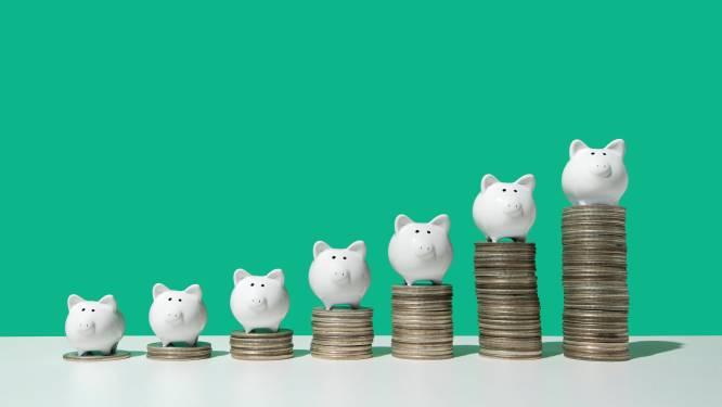 Maandsparen: rente en getrouwheidspremie zo'n zes keer hoger dan op klassieke spaarrekening