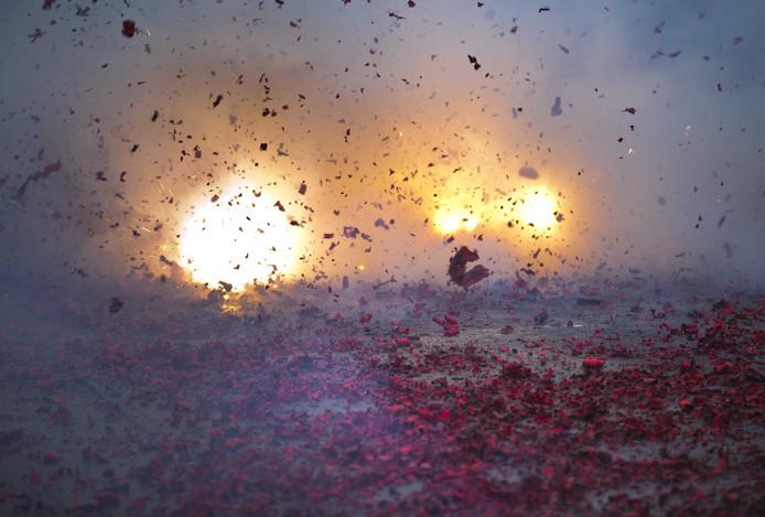 Vuurwerk. FOTO ANP
