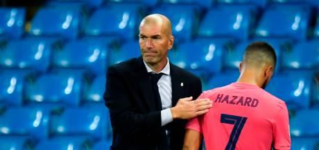 """Zidane: """"Il faut y aller doucement avec Hazard"""""""