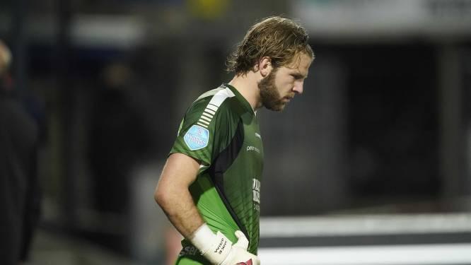 RKC-goalie Grim na verloren penaltyreeks: 'Blij met mijn debuut, al is het wel een beetje verpest zo'