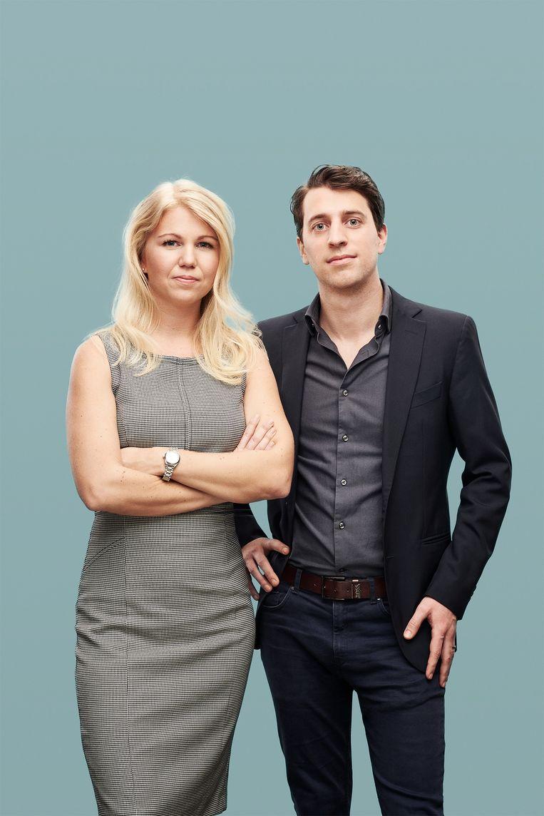 Elina Berglund en haar man Raoul Scherwitzl doen aan wetenschappelijk onderbouwde periodieke onthouding.  Beeld rv