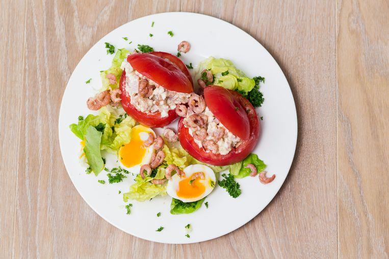 Tomate-crevette Beeld Steven Richardson