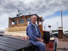 Het vrachtschip van Frans is bijna honderd jaar oud: 'Het voelt alsof ik met haar getrouwd ben'