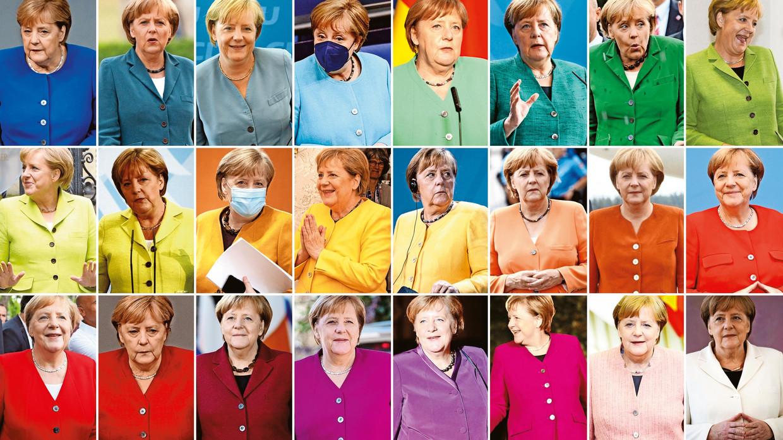 Angela Merkel: zestien jaar lang speelde de Duitse kanselier een – soms beslissende – rol tijdens meer dan honderd Europese toppen. 'Ze is de moeder van de Europese Raad.' Beeld afp / belgaimage / getty images