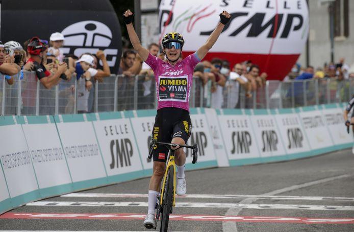Marianne Vos heeft haar 30ste zege in de Giro te pakken.