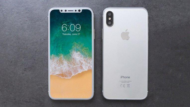 De nieuwe iPhone 8. Zonder homeknop.
