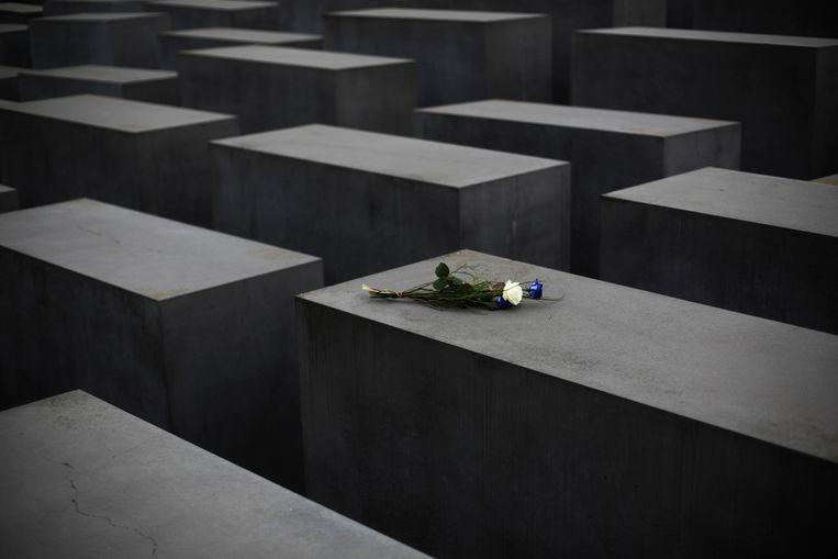 Het Holocaustmonument in Berlijn. Beeld AP