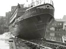 Een schip gleed Jans slaapkamer binnen: hoe de doop van veerboot MS Friesland bijna misging