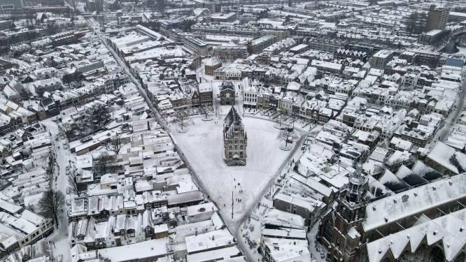 Schaatsweer en sneeuw in april: zoveel zout werd er deze winter gestrooid op de wegen in Gouda