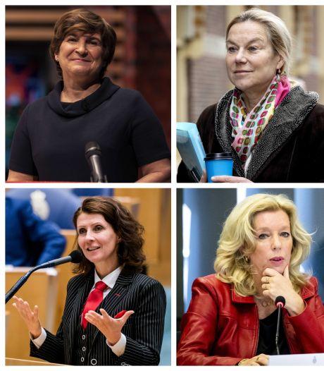 Tien vrouwelijke lijsttrekkers, een record: 'Zichtbaarheid vrouw in politiek cruciaal'