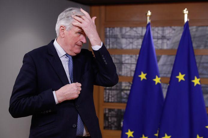 """""""Er is geen vrij verkeer meer omdat de Britten dat niet meer wilden"""", stelt Michel Barnier als hoofdonderhandelaar van de Europese Unie."""