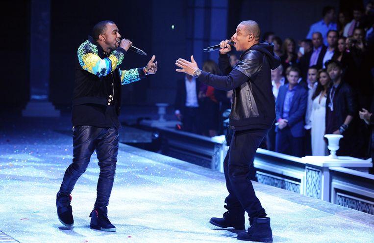Kanye West en Jay-Z Beeld EPA
