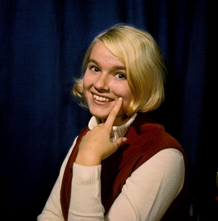 Martine Bijl, 1966. Beeld Kippa