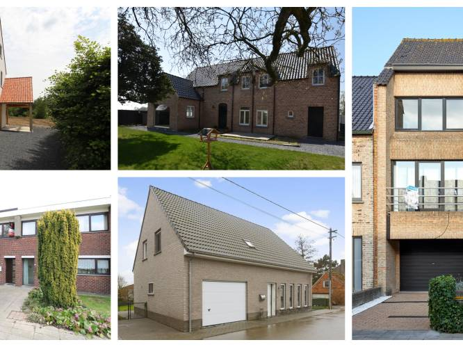 Gemiddeld huis kost 315.000 euro: dit kan je ermee kopen per provincie