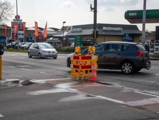 Drie dagen hinder op kruispunt Bourgondisch Kruis voor dichten ondergronds lek