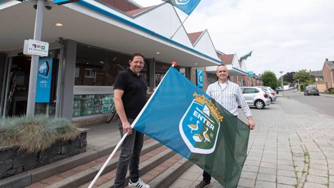 Vlag met wapen moet Enter weer smoel geven: 'Ze zijn hier enorm trots op hun dorp'