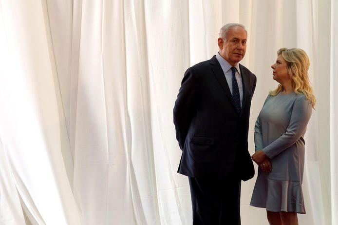 Benjamin Netanyahu en Sara