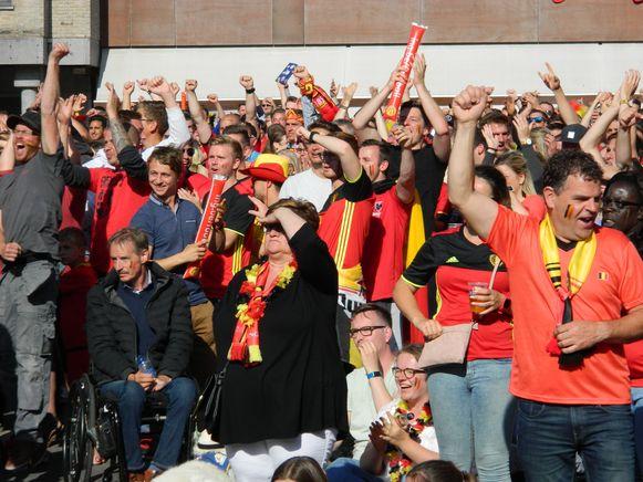 Er kwamen vorig jaar 17.000 supporters naar 7 voetbalfeestjes.
