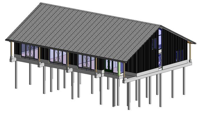 ontwerp clubgebouw