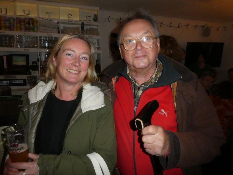 Anne Marie Hoogland, zakelijk leider Nationale Opera, en Tom Verdijk, succesvol uitvinder: