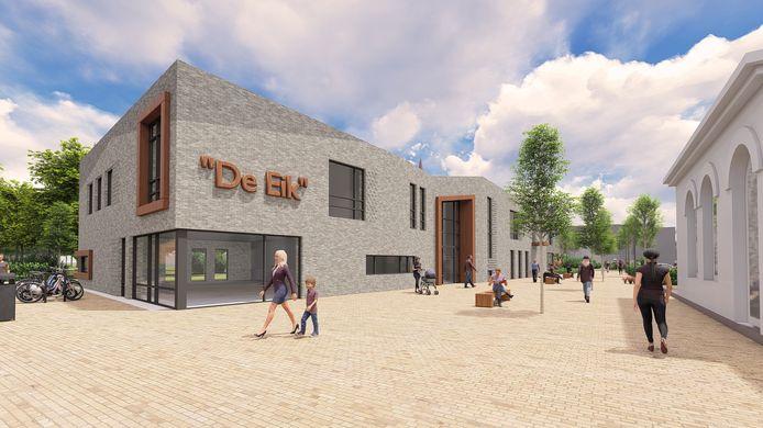 Een impressie van het nieuw te bouwen gezondheidscentrum in Hengelo.