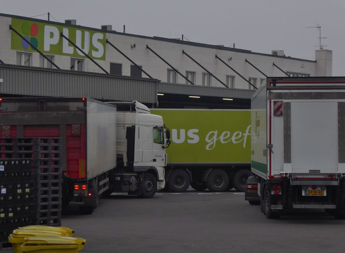 Een ander distributiecentrum van PLUS.