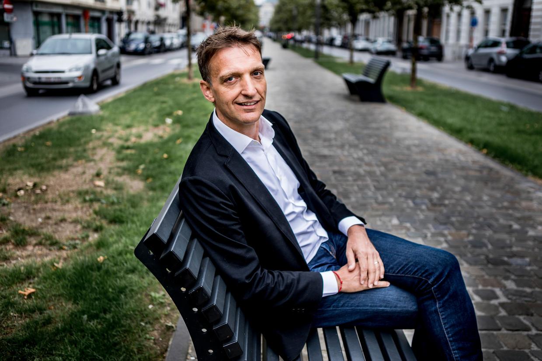 Jan Eeckhout bestudeert al jaren de groeiende marktmacht van de grote technologie-bedrijven.  Beeld ID/Emy Elleboog