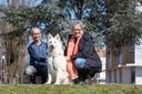 Peter en Ursula Zijlmans van hondenzoekgroep Gelderse Vallei.