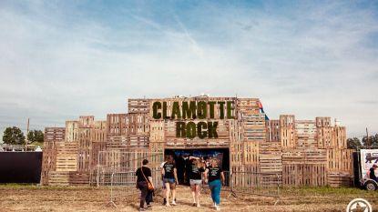 Vroege vogels kunnen al tickets voor Clamotte Rock kopen