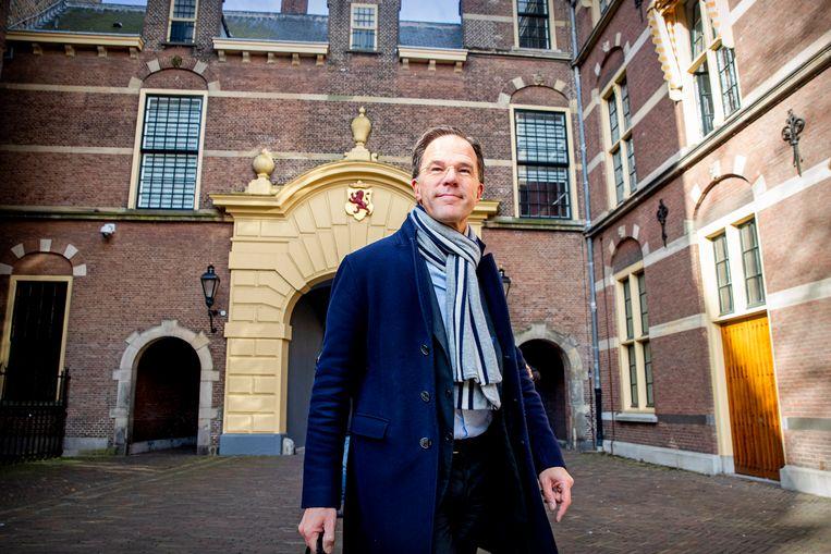 Mark Rutte geldt voor veel kiezers plots als de 'ideale premier'. Beeld Getty Images