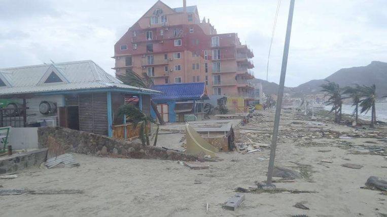 Beelden van Sint-Maarten, 7 september 2017. Beeld RV