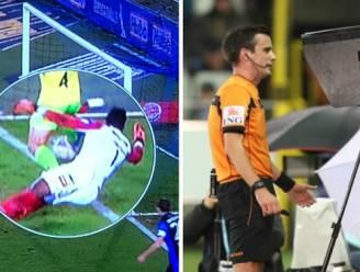 """VIDEO. Videoref komt twee keer tussenbeide in Brugge: """"verwarrende"""" strafschop en bal die de lijn overschreed"""