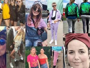 Lowlandstrends 2017: sjaaltje in je haar en je fanny pack over je badpak